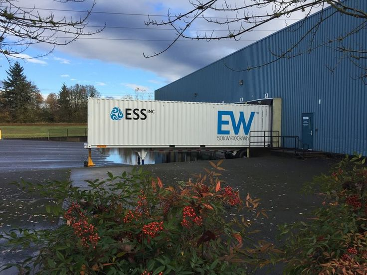 ESS Inc, among several companies looking to commercialise a flow battery energy storage technology, has netted US$13 million in a Series B funding round from investors that include global chemical company BASF.