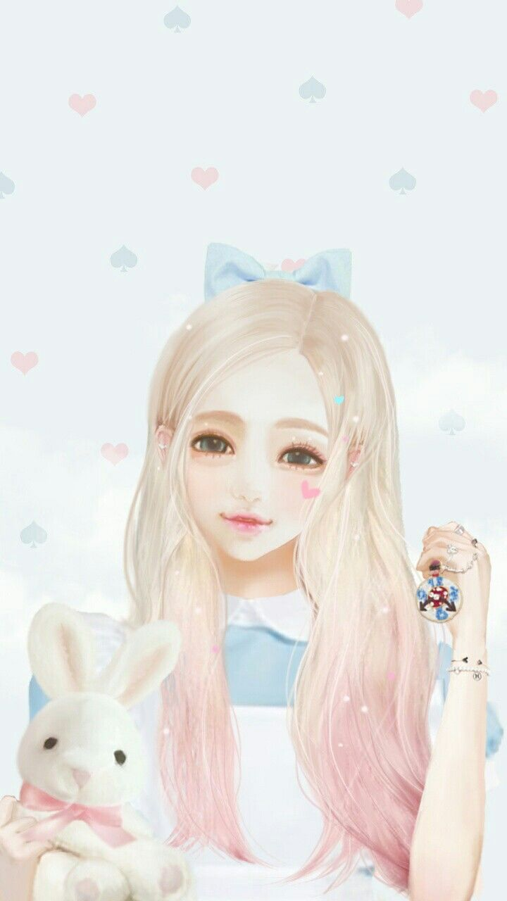 Pin by Røsê on ༻ART༺   Cute girl wallpaper, Anime art girl