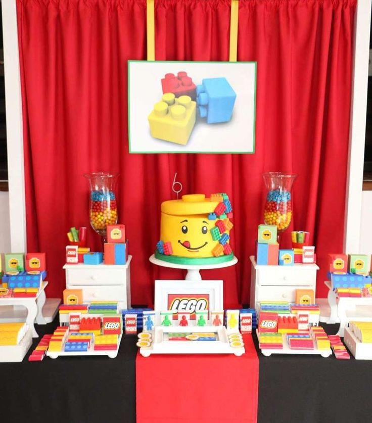 360 best Lego Party Ideas images on Pinterest | Birthday party ideas ...