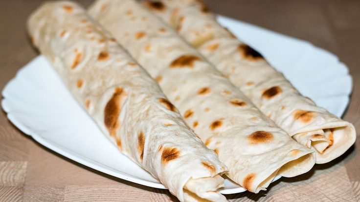 Тонкий лаваш в домашних условиях | Homemade Pita Bread Recipe