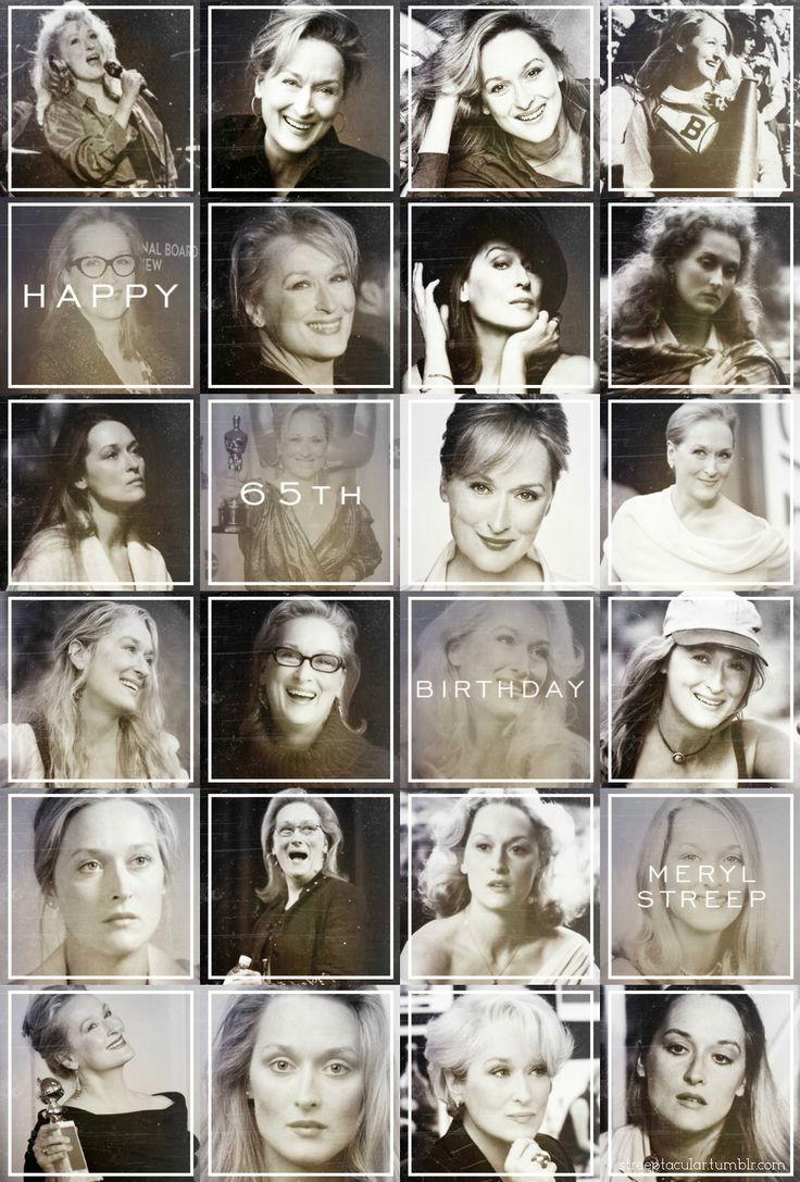 June 22, 2014: Happy 65th Birthday, Meryl!!!
