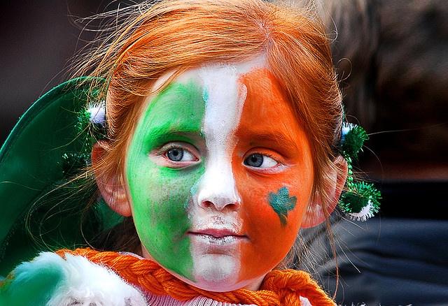 oh no!  Caoilainn tends to overdue at parties... Go Irish! #myhenhousecelebration