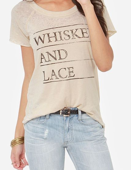 whiskey and lace t