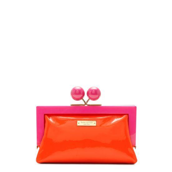 Kate Spade clutch - so cute! Love the colors!!