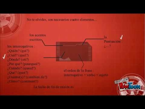 Frase interrogativa A1 - YouTube
