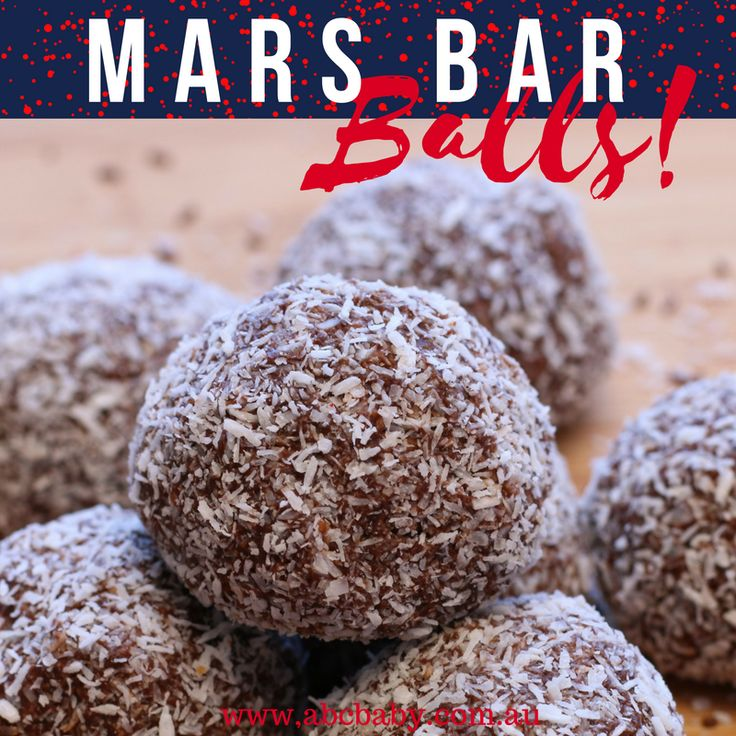Remember that TV ad a Mars a day helps your work rest and play? Well I dont know how true that is, but what I do know is these Mars Bar Balls definitely put a smile on your face! :) Ingredients Packet choc ripple biscuits 3 mars bars 1 tin chocolate condensed milk we purchased from ALDI 1 1/2 cups desiccated coconut Coconut to roll in Method P...