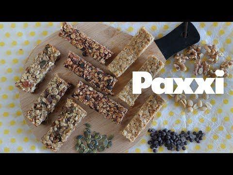 3 συνταγές για μπάρες δημητριακών — Paxxi
