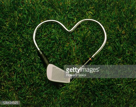 Golf club heart