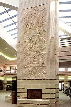 brick.com | Acme Brick | Custom Brick Sculpture
