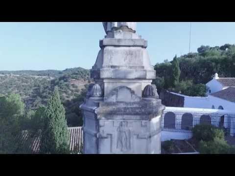 """ERMITAS. El poema de Antonio Grilo comienza así : """"Hay en mi alegre Sierra, sobre las lomas, unas casitas blancas como palomas""""."""
