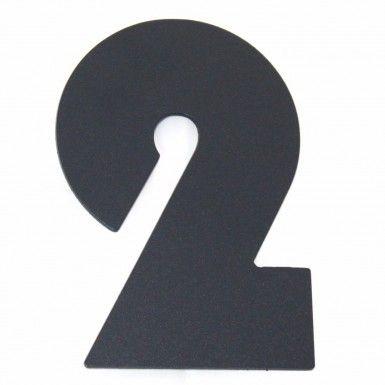Hauswand Ziffer Hausnummer modern