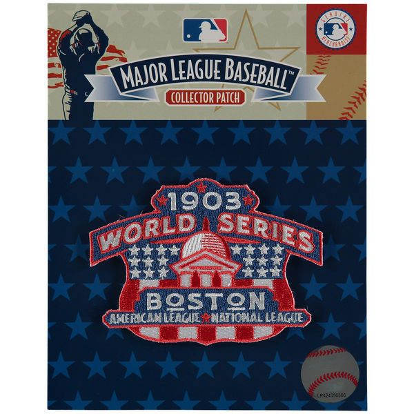 "Boston Red Sox 4.5"" x 3.5"" 1903 World Series Patch"