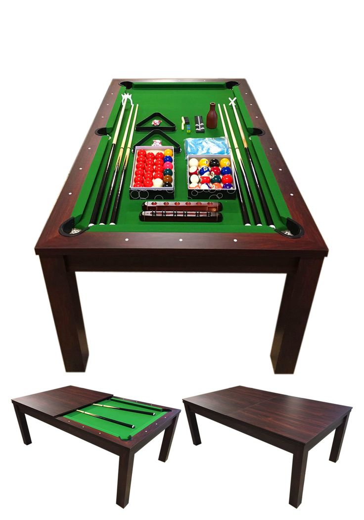 Missisipi Model 7' Pool Table with Snooker Full Accessories
