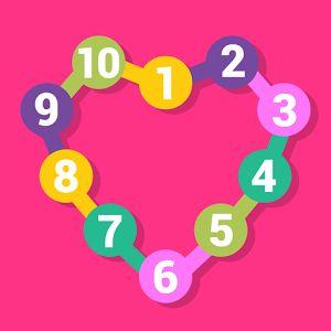 """Веселая занимательная игра """"Соедини точки- учимся считать"""" для изучения цифр и чисел. Соединяйте подряд цифры и открывайте картинки, которые прячутся в контурах из цифр. После успешного замыкания всего контура проявляется фигура, которая была описана данным контуром. Яркие, веселые картинки понравятся вашему малышу и смогут надолго увлечь его в игровой процесс. #Android #apps #математика #образование #дети #родители #детские игры"""
