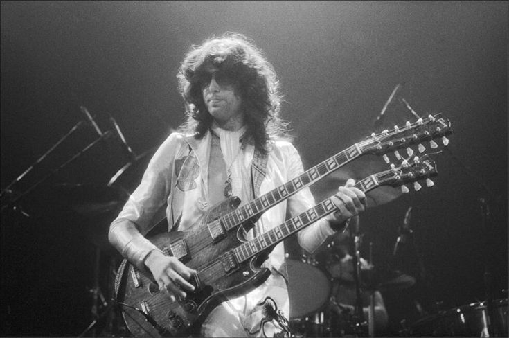 Jimmy Page, Madison Square Garden, June, 1977