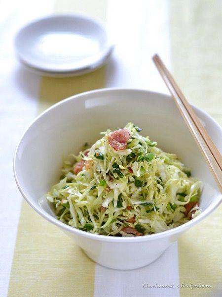 ベーコンオイルのキャベツサラダ by 西山京子/ちょりママ | レシピ ...