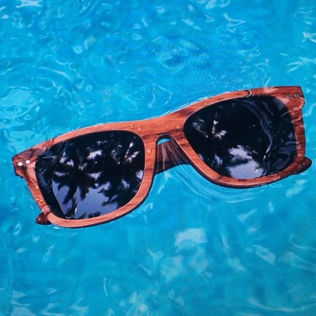 We all know that person who lost their sunglasses to the water. Good news, that's not a problem with our Wood & Skate Collections!  Say goodbye to sinking sunglasses this summer ☀️ #iwantproof