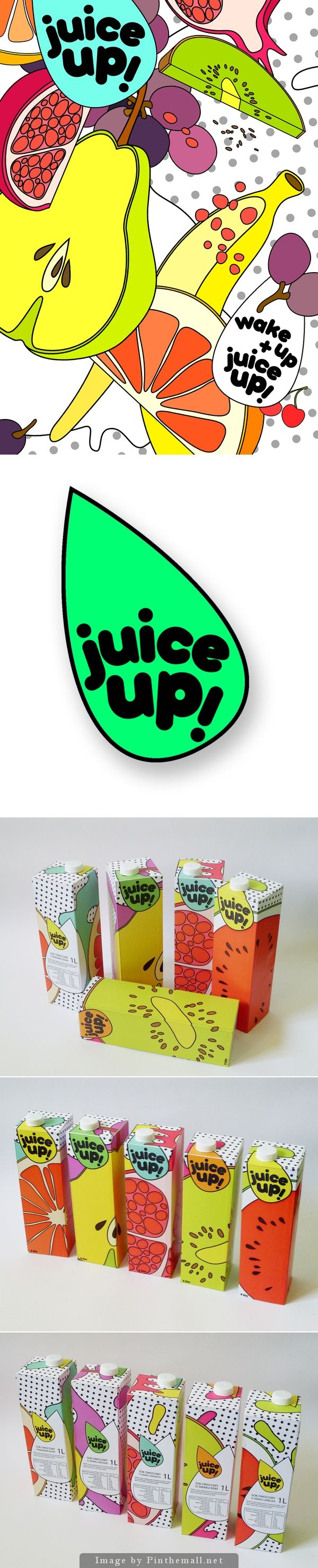 Let's have some juice packaging curated by Packaging Diva PD