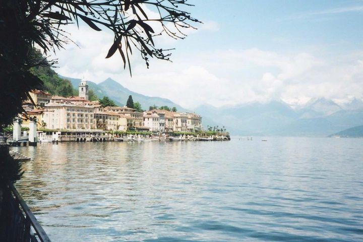 como gölü manzaralı resim