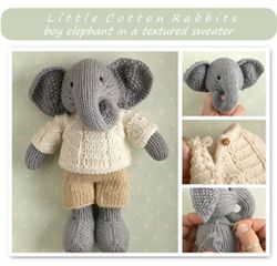 Elephant Pants Knitting Pattern : Elephant pattern for knitting - LOVE it Knitting Small Pinterest Elepha...