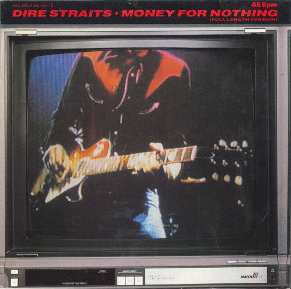 Dire Straits Money For Nothing Full Length Version Vinyl 12 45 Rpm Maxi Single Discogs Money For Nothing Dire Straits Country Music Videos