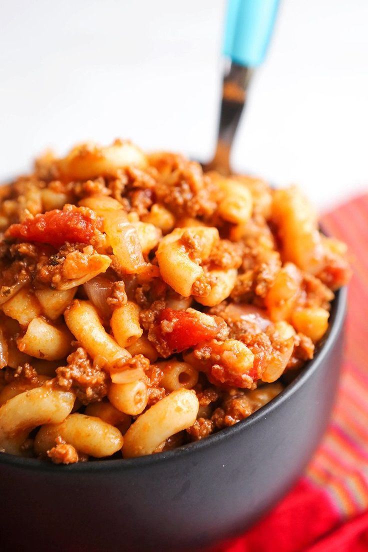 goulash recipe recipes american beef easy ever macaroni ground without 38th night season casserole cooking ebby pip hamburger elbow pipandebby