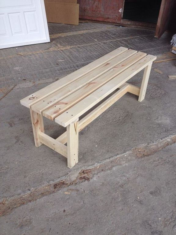 Woodworking 25 Easy Diy Wood Garden Bench Designs For 2018