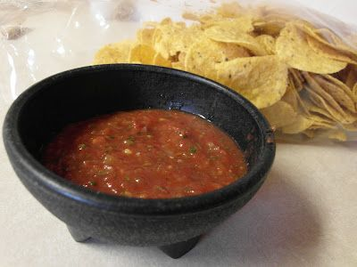 Finally, real Mexican Restaurant salsa recipe.  It is as simple as I thought it would be.