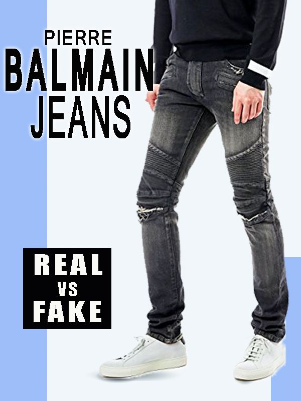 Looking to buy authentic real Balmain jeans then pay attention to the key  tips reveal in this article. 5226801442e98