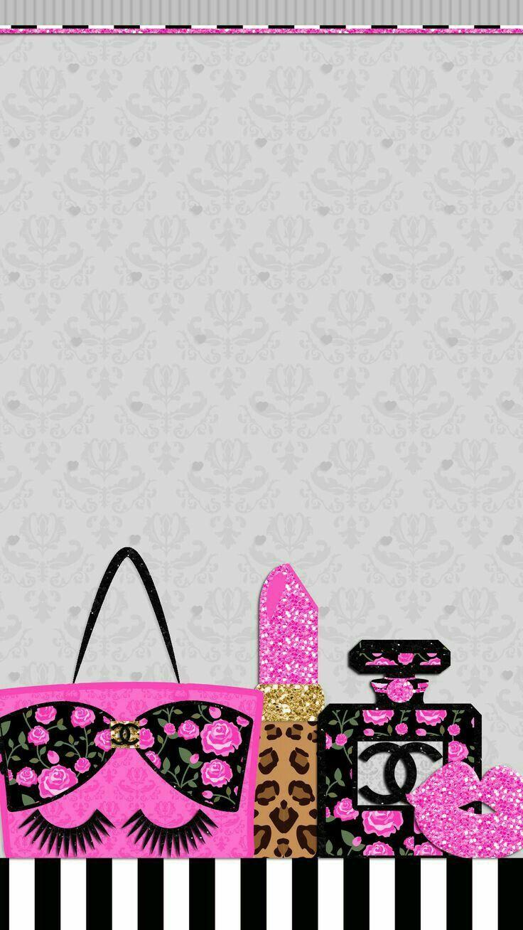 Cute Girly Chic Wallpaper Iphone Wallpaper Pinterest Iphone