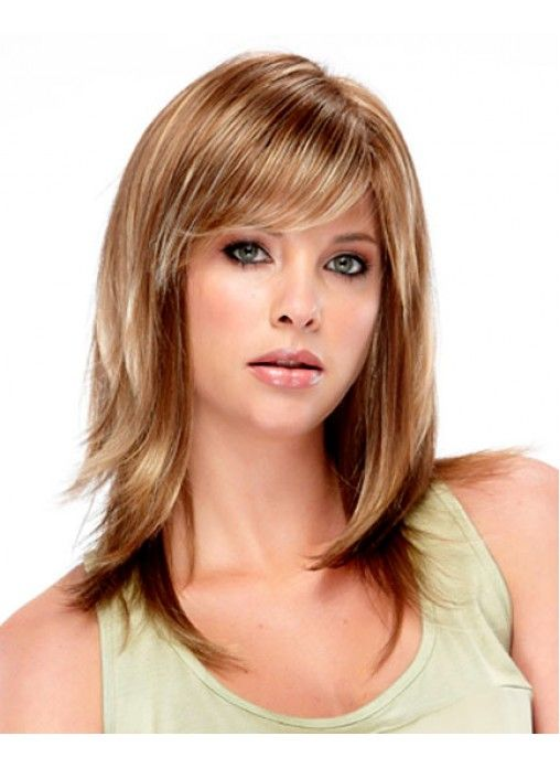 Shoulder Length Hairstyle With Bangs 2017 : 7 best images about popular medium length hairstyles 2016 on pinterest