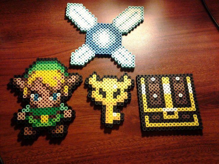Zelda Perler Bead Sprites by xHarleenxQuinzelx on deviantart