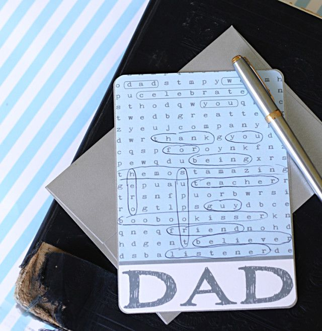 FATHERS DAY FREEBIE. FATHERS DAY CARD GAME. CLICK ON LINK FOR FREE TEMPLATES. http://www.fabnfree.com/2012/06/09/15-free-fathers-day-printables-decorations-gifts/