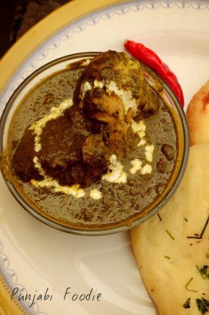 Palak murg !!! Amazing chicken !! #food punjabi foodie