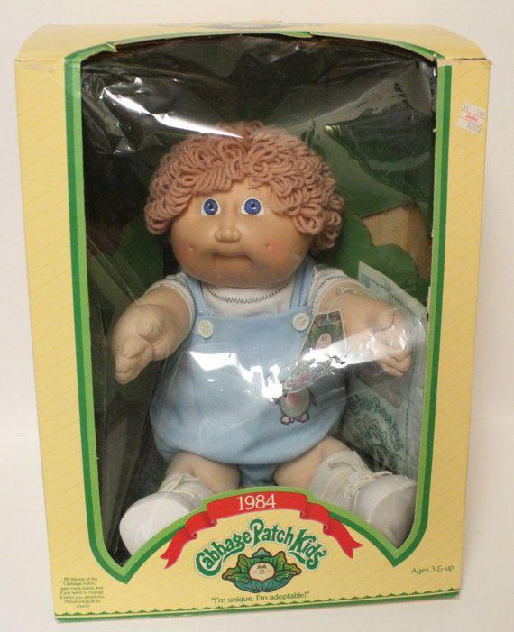 Original Cabbage Patch Doll Kids 1984 Fernando Doug Etsy Cabbage Patch Dolls Original Cabbage Patch Dolls Cabbage Patch Kids Dolls