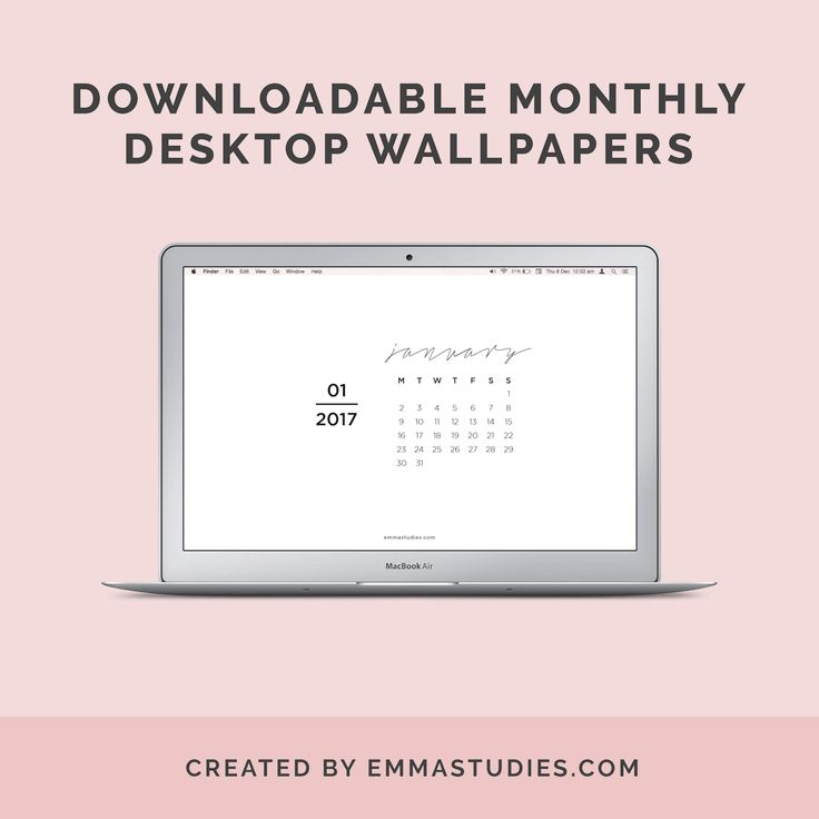 Weekly Calendar Wallpaper : Monthly desktop wallpaper calendars emmastudies