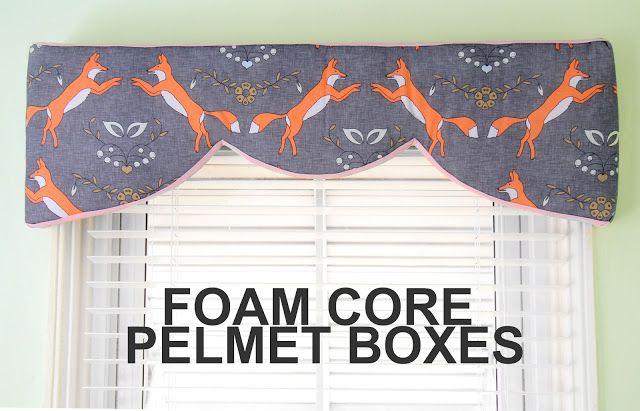 Grosgrain: Foam Board Pelmet Boxes