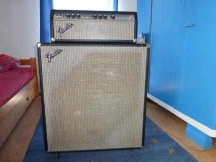 fender bassman 50 2x 15 box in baden w rttemberg rottweil musikinstrumente und. Black Bedroom Furniture Sets. Home Design Ideas