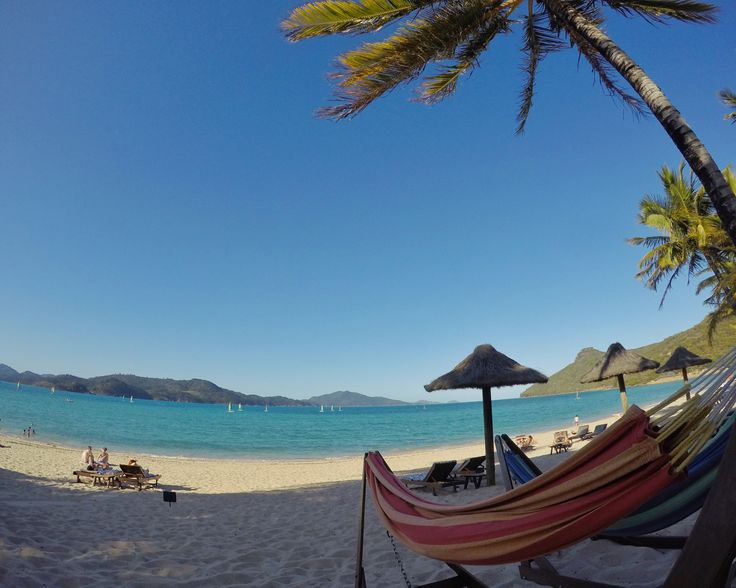Life is too short ... to not lie in a hammock by the ocean. Life is too short to wait. #HamiltonIsland