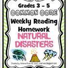 Natural disasters homework help