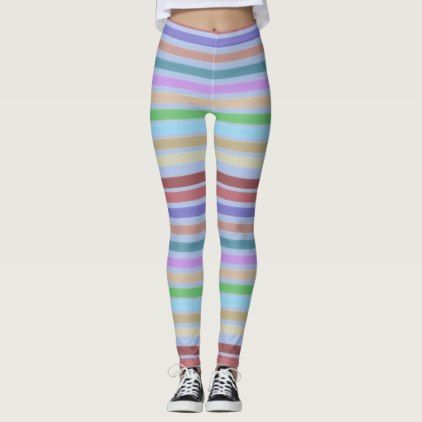 Ladies Sportswear Leggings With Stripes - rose style gifts diy customize special roses flowers