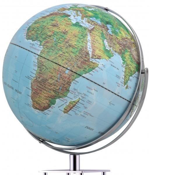 Mappamondo da arredo Mappamondo con piedistallo in alluminio WORLDTROPHY - fisico 1 - Impocoweb - Impoco Group: negozio di cartoleria online fornitura di articoli ufficio e scuola, articoli da regalo e pelletteria.