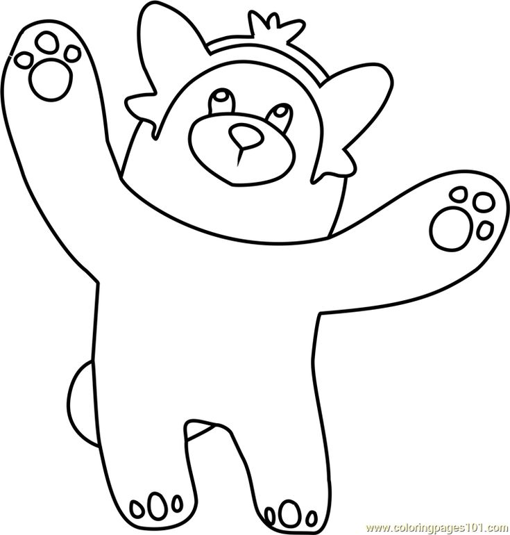 bewear sun and moon coloring page moon coloring