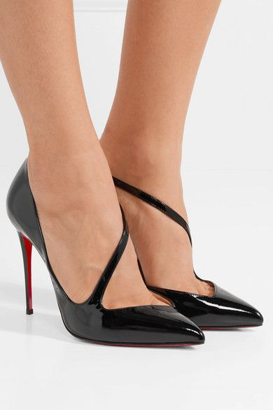 0abda936188 Christian Louboutin - Jumping 100 patent-leather pumps in 2019 ...