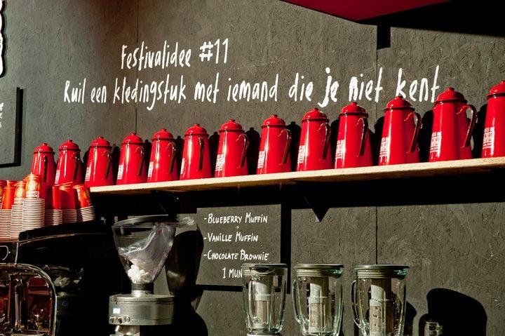 In het Douwe Egberts koffiehuis