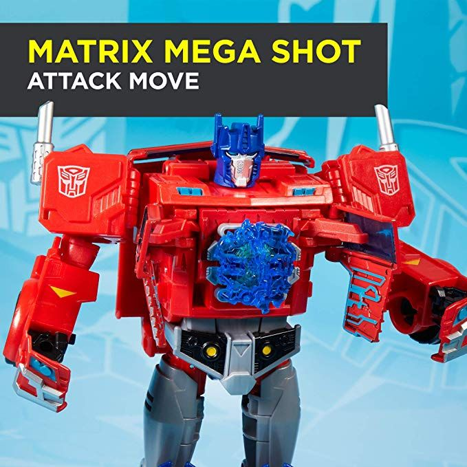 Transformers Optimus Prime Cyberverse  Ultimate Class Action Figure