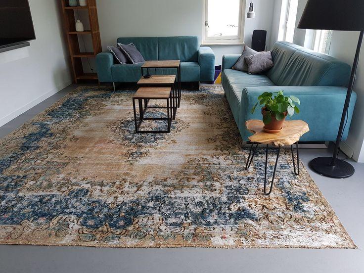 Beautiful kirman vintage rug from Rozenkelim  Vintage vloerkleed uit Iran, Kirman vloerkleed ongeveer 30-40 jaar oud