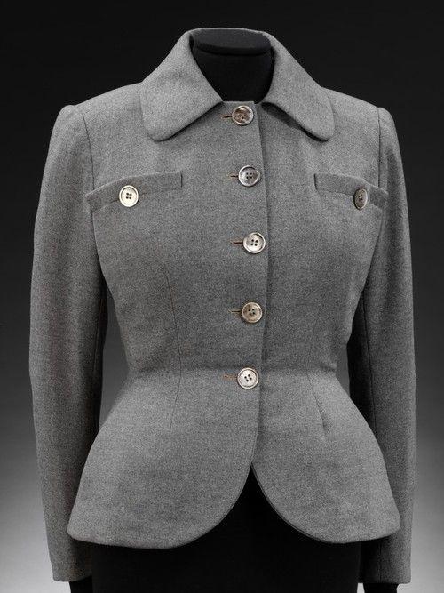 Jacket Christian Dior, 1947 The Victoria & Albert Museum