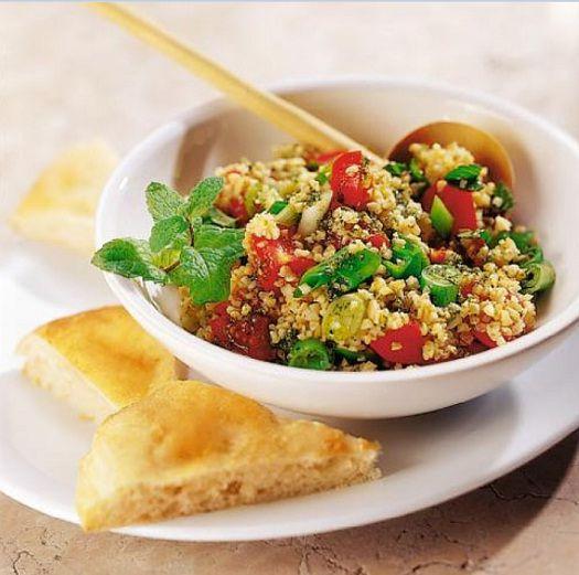 A mi izraeli konyhánk: Bulgur saláta