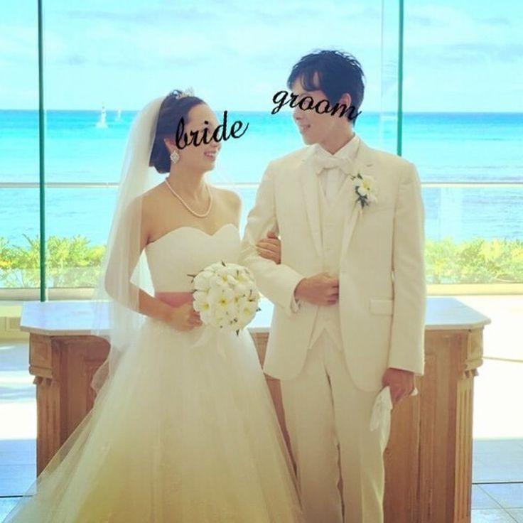 【挙式編】ハワイのチャペルで永遠の愛を誓う♡輝く海と太陽の優しい光に包まれて…